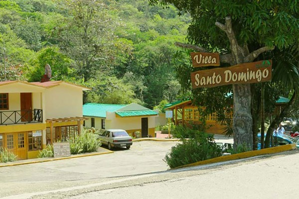 Villa Santo Domingo Entrance